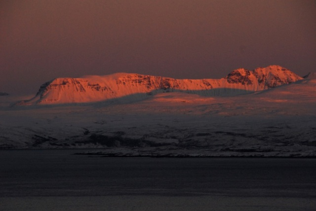Sunset over Torridon