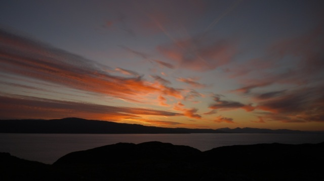 Sunrise over Applecross