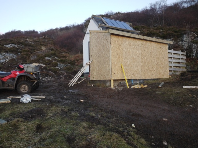 The cladding's On