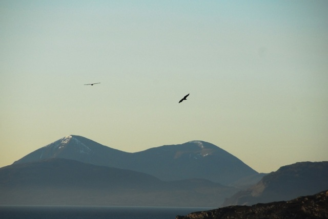 Over The Red Cuillins