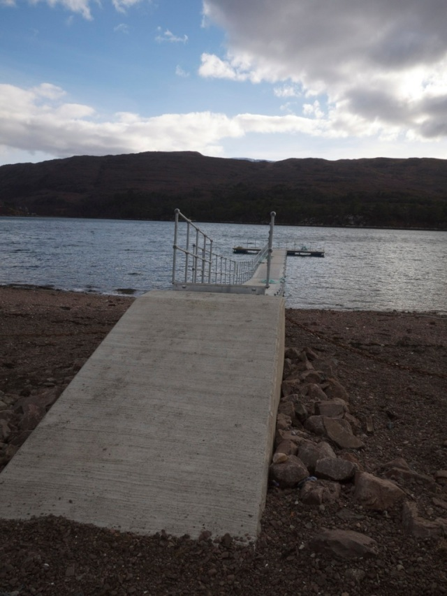 Shieldaig Pontoon