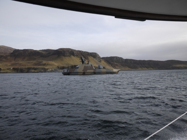 Naval Excercise Boat