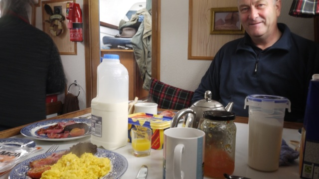 Birthday Breakfast John Ellis playing!