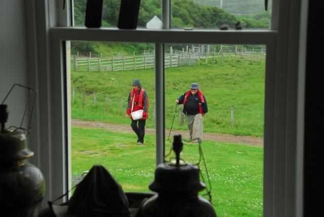 Visitors in The Rain