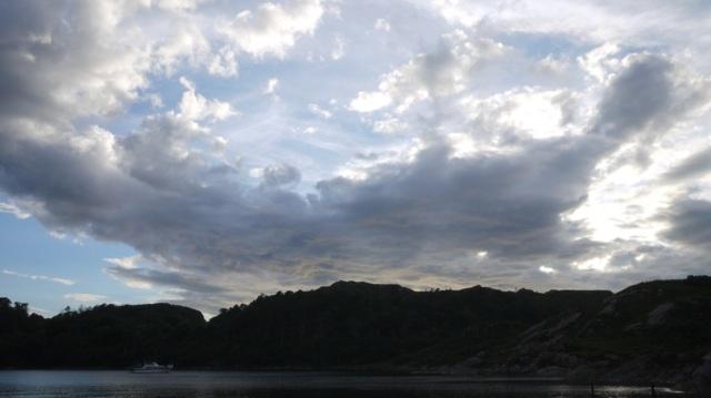 Late Evening Cloud