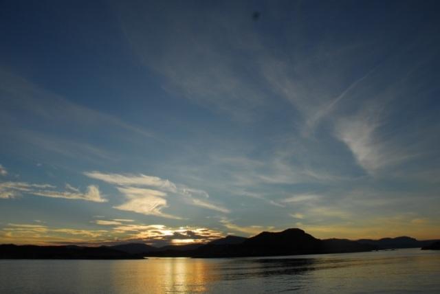 Sundown over Trotternish