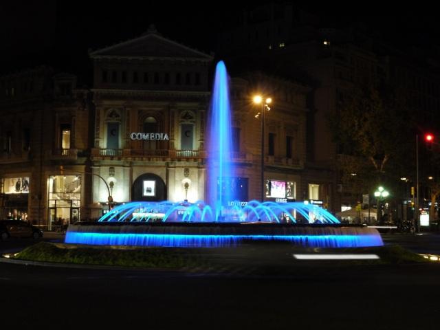 Busy Square, Barcelona