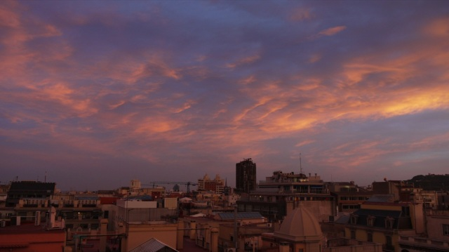 Barcelona Sunset.