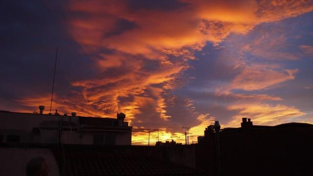 Sunset Over Paulas Flat