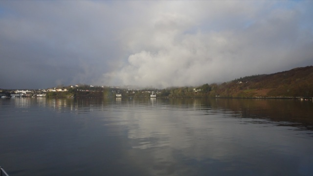 Foggy Saturday Morning Portree Harbour