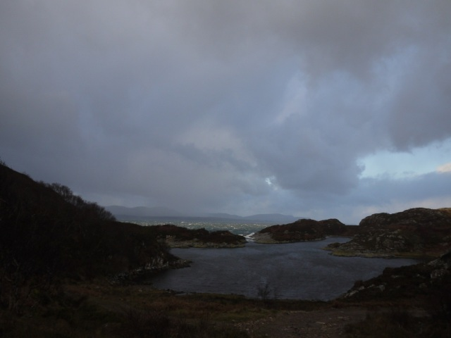Stormy Scene Dry Harbour