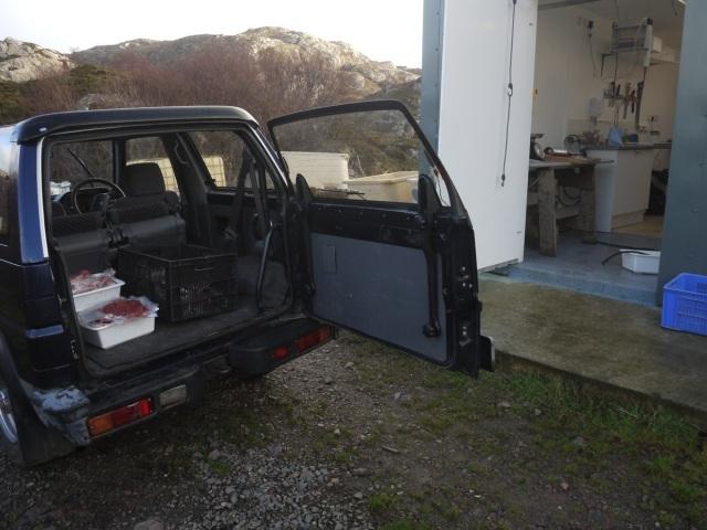 Butchers Van