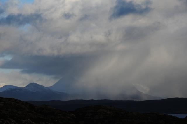 Snow Shower Over Torridon