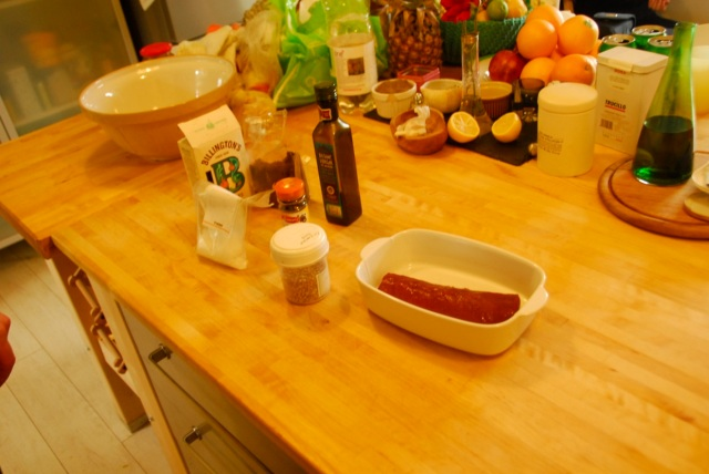 Spiced Loin Of Venison