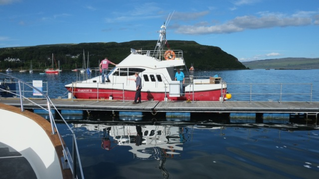 Dan's New Boat
