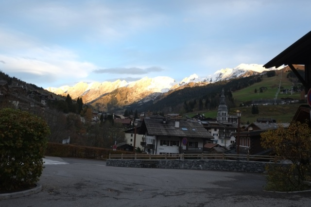 Clusaz in the morning