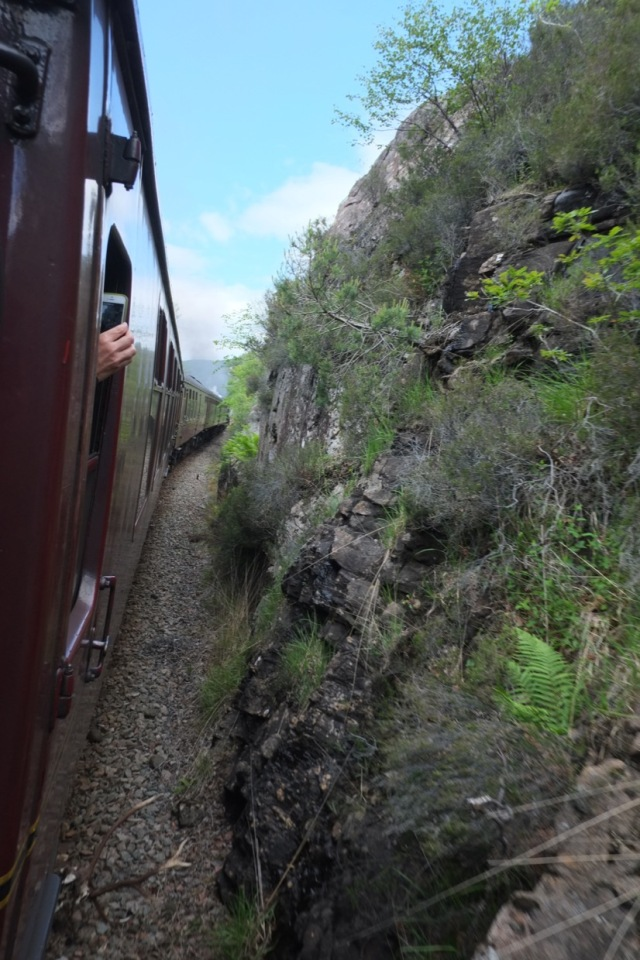 The Harry Potter train