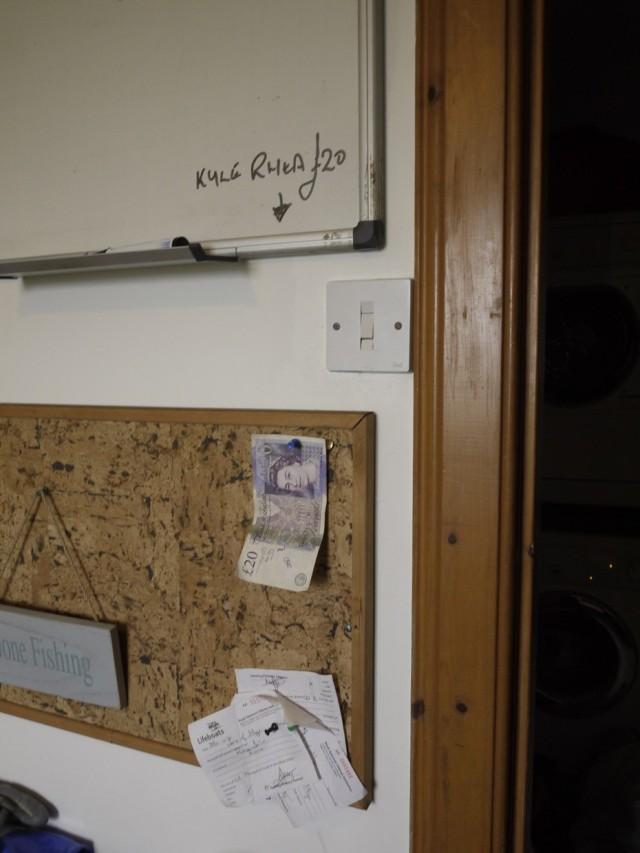 Kyle Rhea's £20