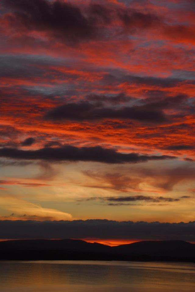 At Last a Decent Sunset