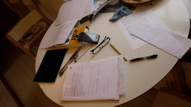 Paperwork/Housework