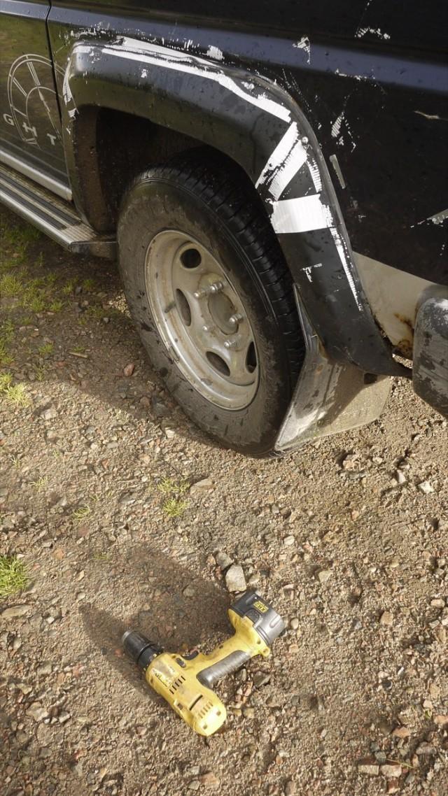 Mudgaurd Repairs