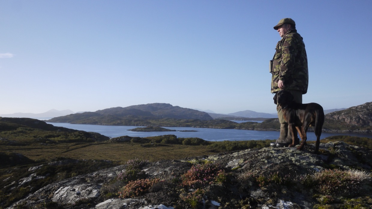 Spying The South End and Raasay
