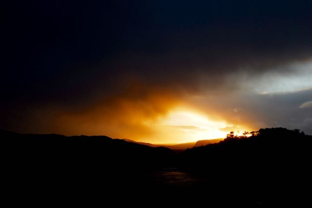 Late Sunburst