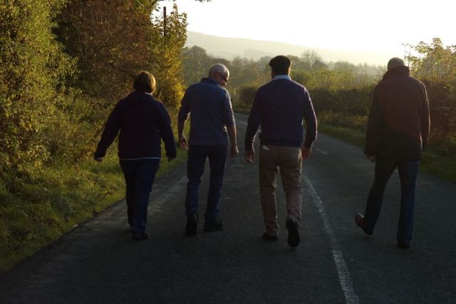 The Walk To The Pub