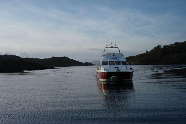 Flat Calm Ferry, last Wednesday.