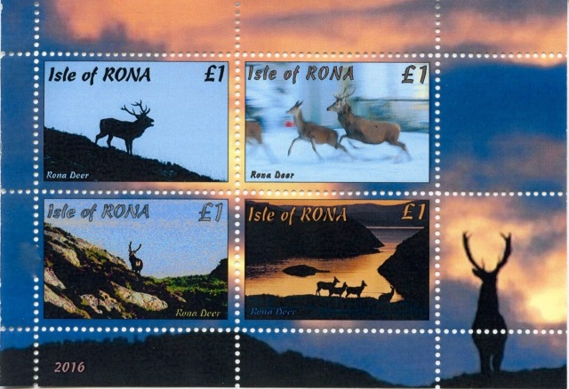 The 2016 Rona Stamp Issue.