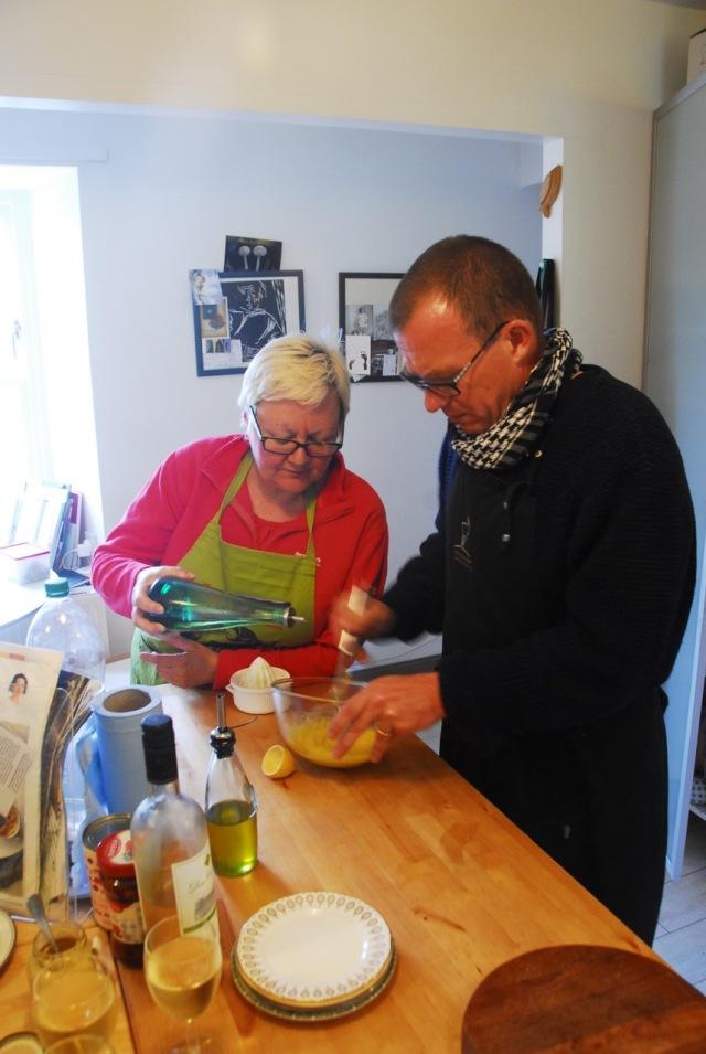 Making The Mayo'