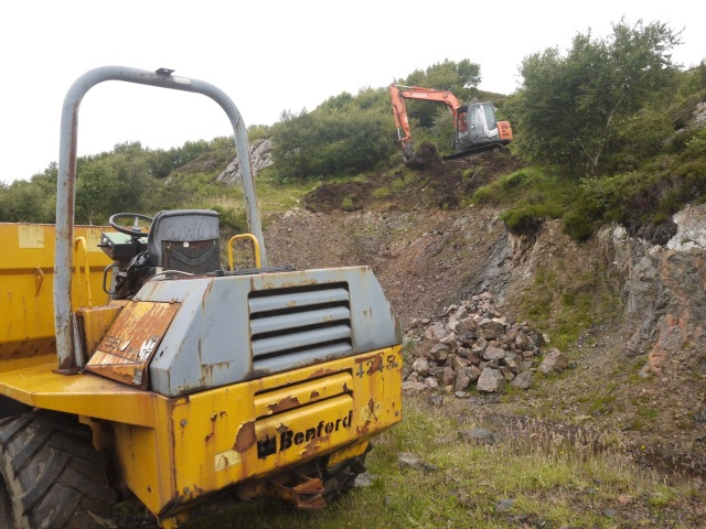 Stripping the Quarry