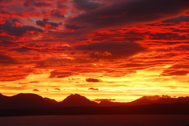 Torridon Sunrise 3rd Oct (2)